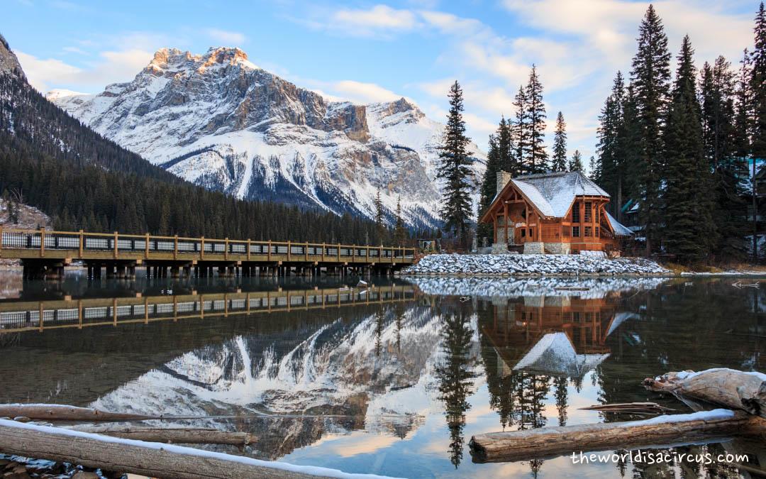 Winter Wonderland At Emerald Lake Lodge The World Is A